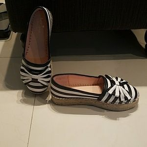 Kate Spade leather espadrille Shoes.